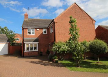 Thumbnail 5 bedroom detached house for sale in Belvoir Close, Stamford