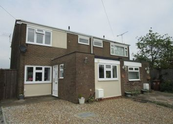 Thumbnail 3 bedroom semi-detached house for sale in Meadow Close, Welham Green, Hatfield