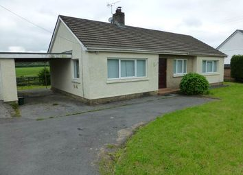 Thumbnail 3 bed bungalow to rent in Rhydargaeau, Carmarthen, Carmarthenshire