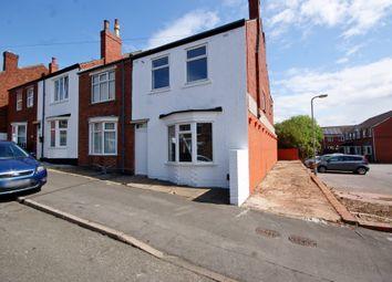 Thumbnail 3 bedroom end terrace house for sale in Devon Street, Lincoln