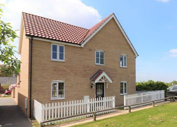 Thumbnail 4 bedroom detached house to rent in Mary Clarke Close, Hadleigh, Ipswich, Suffolk