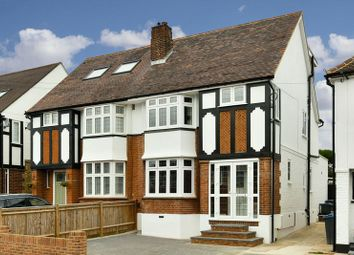 Thumbnail 4 bed semi-detached house to rent in Pembroke Avenue, Berrylands, Surbiton