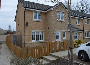 Thumbnail 3 bed end terrace house for sale in Kingfisher Court, Motherwell