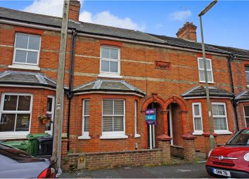 Thumbnail 3 bed terraced house to rent in Alexandra Avenue, Camberley