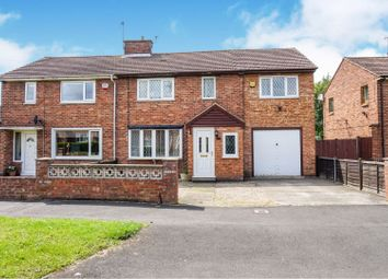 Thumbnail 4 bed semi-detached house for sale in Wains Road, York
