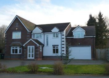 Thumbnail 6 bed detached house for sale in Park Hall Road, Walsall, West Midlands