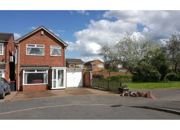 Thumbnail 3 bed detached house for sale in Rowan Close, Tamworth
