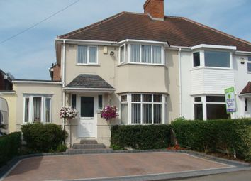 Thumbnail 3 bed semi-detached house for sale in Callowbrook Lane, Rubery