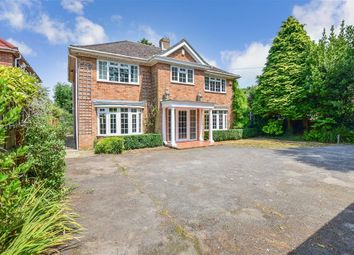 Thumbnail 4 bedroom detached house for sale in School Road, Saltwood, Hythe, Kent