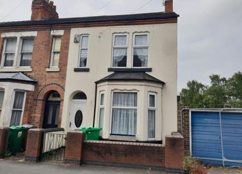 Thumbnail 2 bed end terrace house for sale in Grove Road, Nottingham, Nottinghamshire
