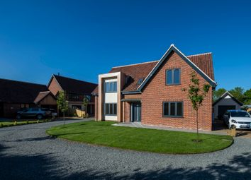 Thumbnail 4 bedroom detached house for sale in Greengate, Swanton Morley, Dereham