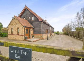 Thumbnail 5 bedroom barn conversion for sale in Walpole Highway, Wisbech, Norfolk