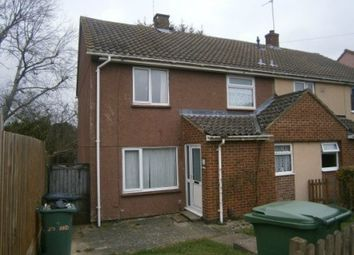 Thumbnail 1 bed end terrace house to rent in Bideford Square, Corby