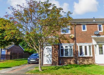 Thumbnail 2 bedroom semi-detached house for sale in Castle Way, Pegswood, Morpeth