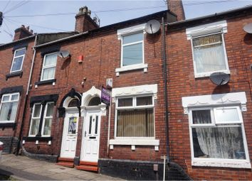 Thumbnail 2 bed terraced house for sale in Jervis Street, Stoke-On-Trent