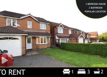 Thumbnail 3 bed detached house to rent in Burchnall Road, Thorpe Astley, Braunstone, Leicester