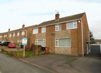 Thumbnail 3 bedroom semi-detached house for sale in Neville Drive, Markfield