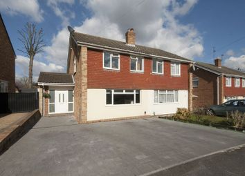 Thumbnail 3 bed semi-detached house for sale in Ongar Place, Addlestone