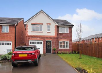Thumbnail 4 bed detached house for sale in Frank Wilkinson Way, Alsager, Stoke-On-Trent