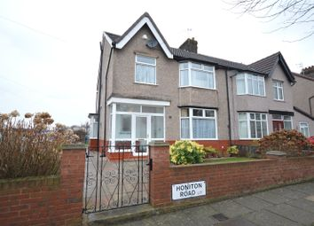 Thumbnail 3 bedroom semi-detached house for sale in Honiton Road, Aigburth, Liverpool