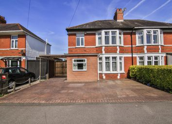 Thumbnail 3 bedroom semi-detached house for sale in Heol Y Nant, Rhiwbina, Cardiff