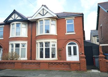 Thumbnail 3 bed semi-detached house for sale in Queensway, Blackpool