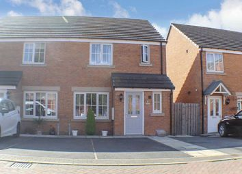 Thumbnail 3 bed semi-detached house for sale in Holme Farm Mews, Pontefract
