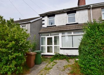 Thumbnail 3 bed semi-detached house for sale in Derwendeg Avenue, Cefn Hengoed, Hengoed