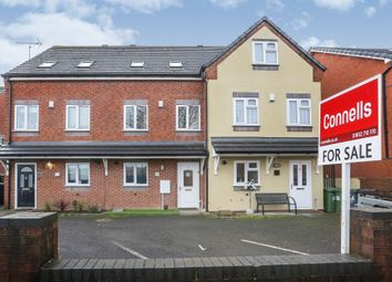 Thumbnail 4 bed town house for sale in Harper Street, Willenhall