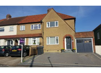 Thumbnail 3 bedroom end terrace house for sale in Church Lane, Chessington