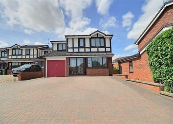 Thumbnail 4 bed detached house for sale in Hayfield Close, Rushwick, Worcester