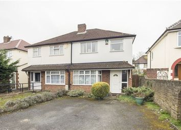 Thumbnail 3 bed semi-detached house for sale in Whytecliffe Road North, Purley