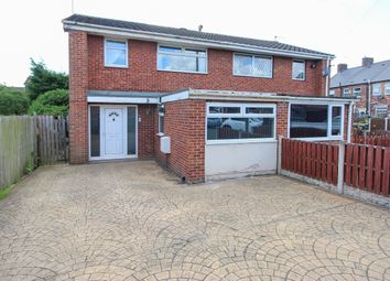 Thumbnail 3 bed semi-detached house for sale in Colliers Close, Woodhouse, Sheffield