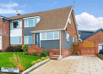 Thumbnail 4 bed semi-detached house for sale in Narrow Croft Road, Aughton, Ormskirk