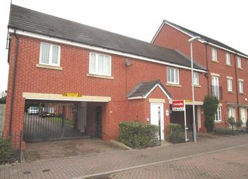 Thumbnail 1 bed flat for sale in Greenock Crescent, Monmore Grange, Wolverhampton
