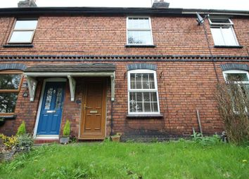 Thumbnail 2 bed terraced house for sale in Station Road, Cheddleton, Leek, Staffordshire