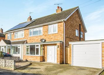 Thumbnail 3 bed semi-detached house for sale in Oak Road, Littlethorpe, Leicester