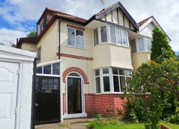 Thumbnail 3 bed semi-detached house for sale in Knipersley Road, Sutton Coldfield