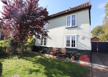 Thumbnail 3 bed semi-detached house for sale in Chapel Road, Morley St. Botolph, Wymondham, Norfolk
