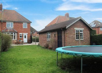 Thumbnail 3 bed semi-detached house for sale in Byron Avenue, Uphill, Lincoln