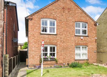 Thumbnail 3 bed semi-detached house for sale in East Street, St. Neots