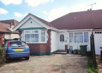 Thumbnail 3 bed semi-detached bungalow to rent in Amis Avenue, West Ewell, Epsom