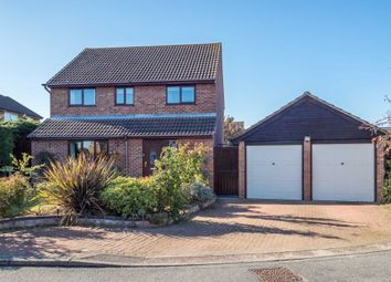 Thumbnail 4 bed detached house for sale in Lackford Close, Brundall, Norwich
