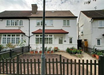 Thumbnail 3 bedroom semi-detached house for sale in North Circular Road, London