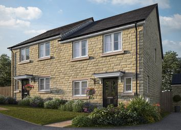 "Thumbnail 3 bedroom semi-detached house for sale in ""The Eveleigh"" at Apperley Road, Apperley Bridge, Bradford"