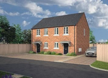 Thumbnail 2 bed semi-detached house for sale in Birch Close, Aslakr Park, Aslockton