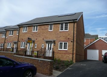 Thumbnail 3 bed end terrace house to rent in Whitley Rise, Reading
