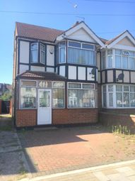 Thumbnail 4 bed semi-detached house to rent in Warham Road, Harrow, Middlesex