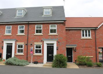 Thumbnail 3 bed terraced house to rent in Pach Way, Fernwood, Newark, Nottinghamshire