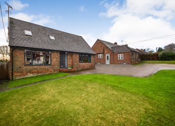Thumbnail 4 bed detached bungalow for sale in Netherfield Hill, Battle